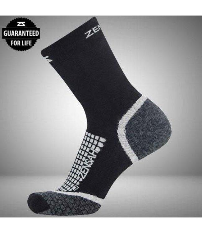 Zensah Grit Running Sock Mini Crew