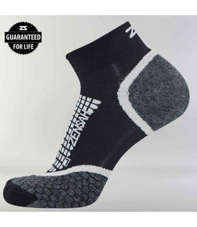 Zensah Grit Running Sock Quarter