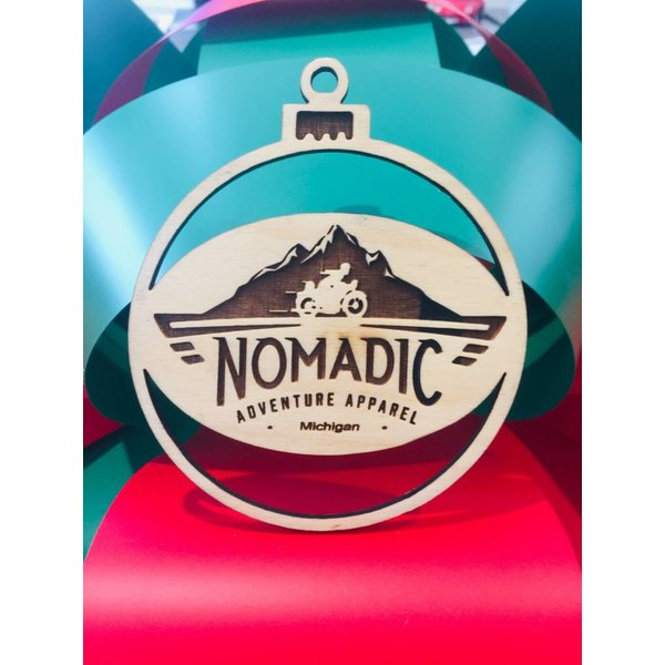Nomadic Michigan Ornament