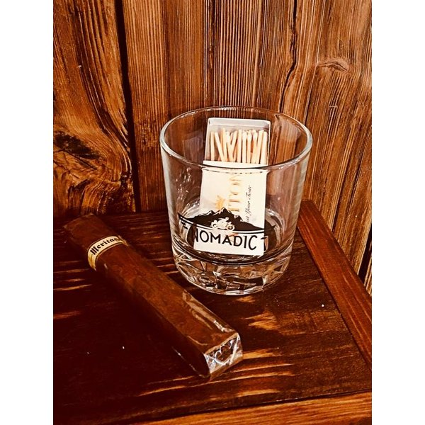 Nomadic Bourbon Glass 8oz