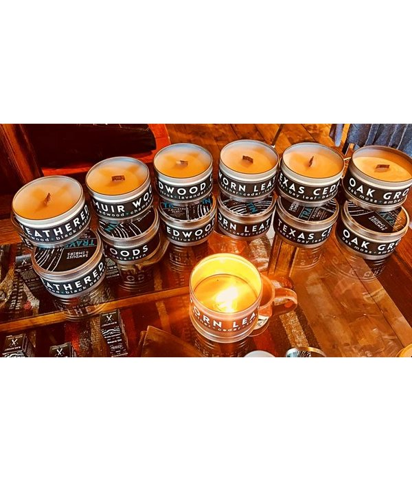 Sawdust and Embers Sawdust & Embers 7.5oz Travel Tin Candle