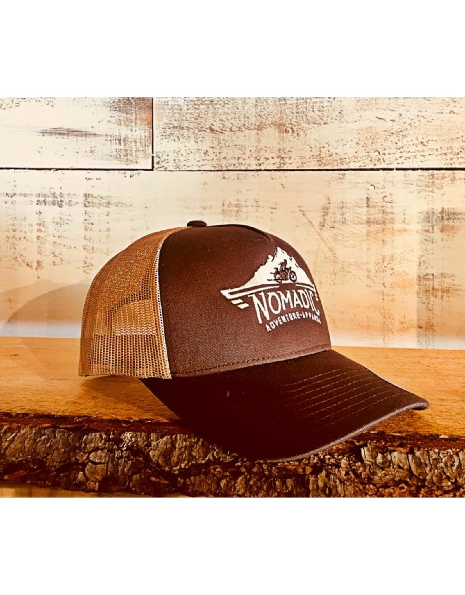 Trucker Snapback Brown/Tan