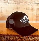Trucker Snapback Black