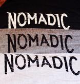 Next Level Mens Henley Nomadic Sleeve Logo