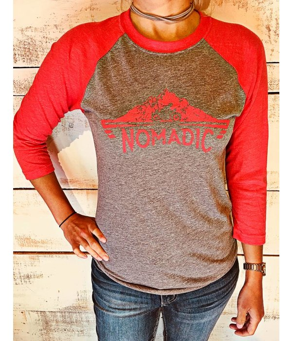 Next Level Unisex Tri-Blend 3/4 Sleeve Raglan