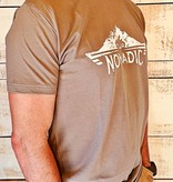 Next Level Mens Crew T-shirt Full Chest Logo