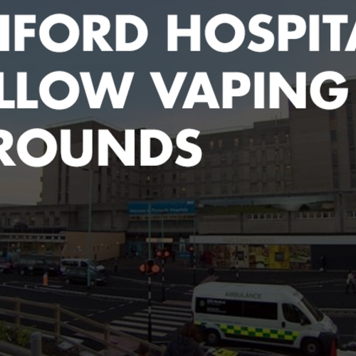 Derriford Hospital to allow vaping in grounds