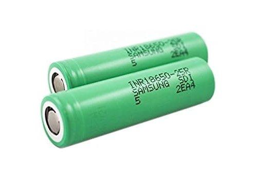 Samsung 25R 18650 25A