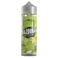 Bazooka Sour Straws - Green Apple