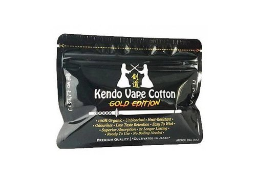 Kendo Cotton - Vape Cotton Gold Edition