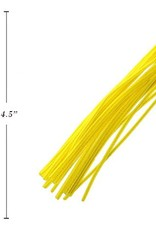 """12"""" Chenilles Yellow 40/Bag 4 Mm Thickness"""