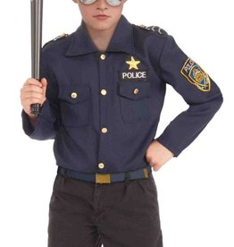 Instant Police Kit Hat & Shirt