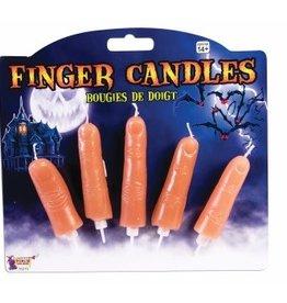 Finger Candles (5 Pieces)