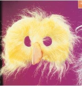 Plush Chicken Mask Yellow