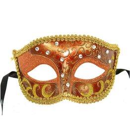Venetian Mask W/Flowers On Top