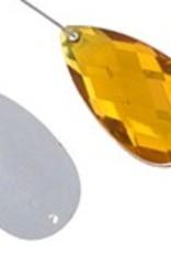 Acrylic Facetted Rhinestone Pear (100 Pcs)