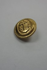 Sailor Anchor Buttons 15Mm - Gold (Gross)