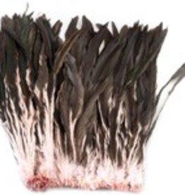 Coque Feathers Strung Baby Pink Half Bronze 14-16 Inch