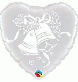 Qualatex Wedding Foil Balloon 18Inches
