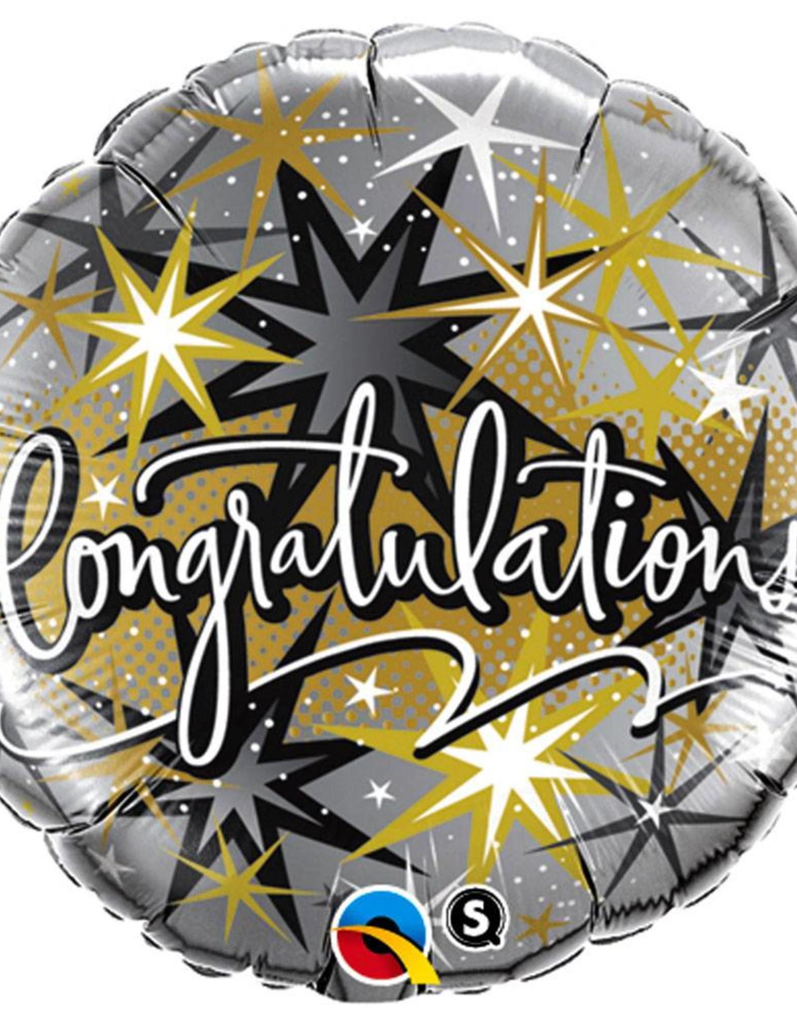 Qualatex Congratulations Super Foat 18 Inches