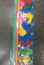 "8Ct Balloons On 18"" Sticks Asstd Colors"