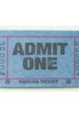 Single Roll Carnival Tickets