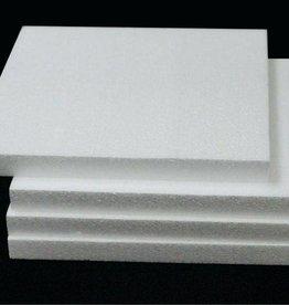 Styrofoam Square  White 3/4 Inch 10x10 Inches