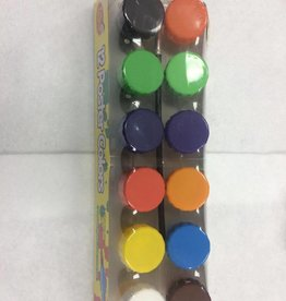 Poster Paint 12'S Kids Club Assorted Colours