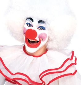 Deluxe Clown Wig White