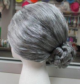Old Lady Wig - Grey