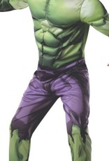 Deluxe Muscle Chest Kids Hulk Costume Large