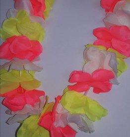 Luau Flower Leis  Assorted Neon
