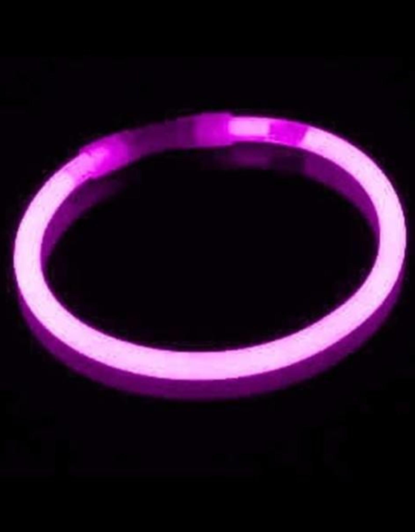 Glow Bracelets Assorted Colours 8 Inches - 3 Bracelets