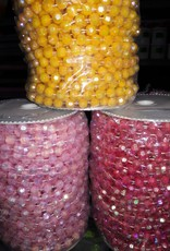 Beads On String 8Mm (Roll) Assorted Ab