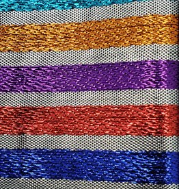 Metallic Stripe Lame