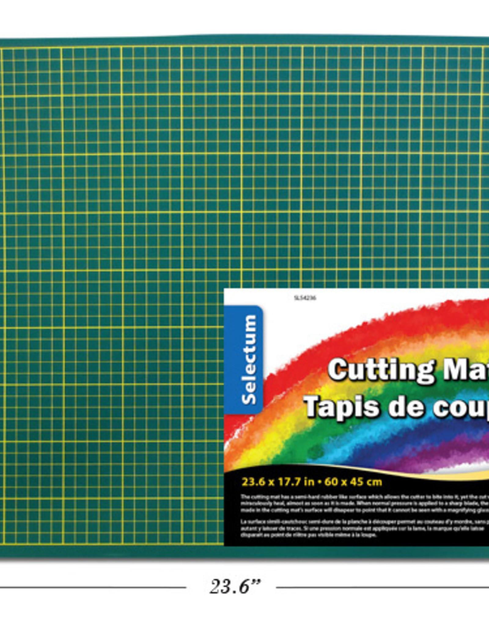"""GREEN CUTTING MAT 23.6 X 17.7"""" (18 X 24)"""
