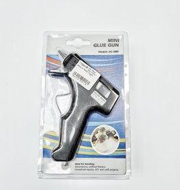 Mini Glue Gun (10W) - Black w/ White Trigger