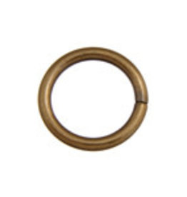 Jump Ring 20mm - Thick 2.6mm Antique Gold (25pcs)
