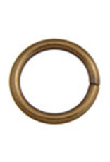 Jump Ring 20mm - Thick 2.6mm Antique Gold (3pcs)