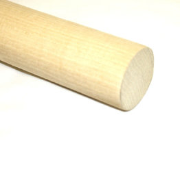 Wooden Dowel Stick 4 feet White 1/2 Inch