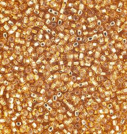 Seedbead (13 grams) Gold 10/0 Silverlined (S/L)