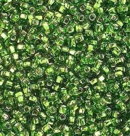 Seedbead (13 grams) Chartreuse 10/0 Silverlined (S/L)