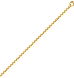 Eye Pins (500 pieces) Gold 2 Inches 20ga (.032)