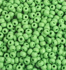 Ponybead  (500 grams) Light Green 6/0 Opaque