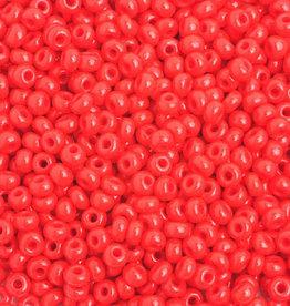 Ponybead  (500 grams) Light Red 6/0 Opaque
