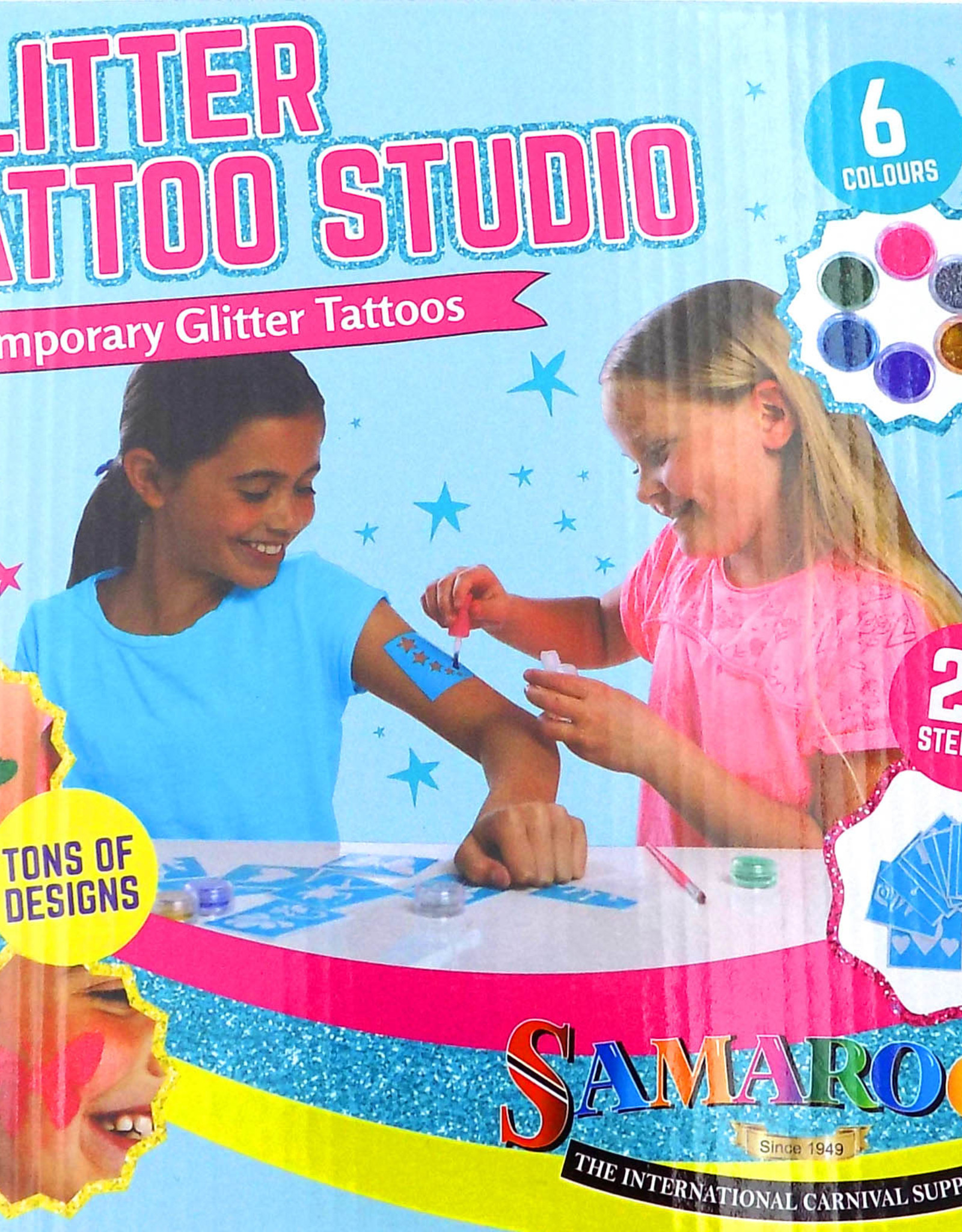 Temporary Glitter Tattoo Studio