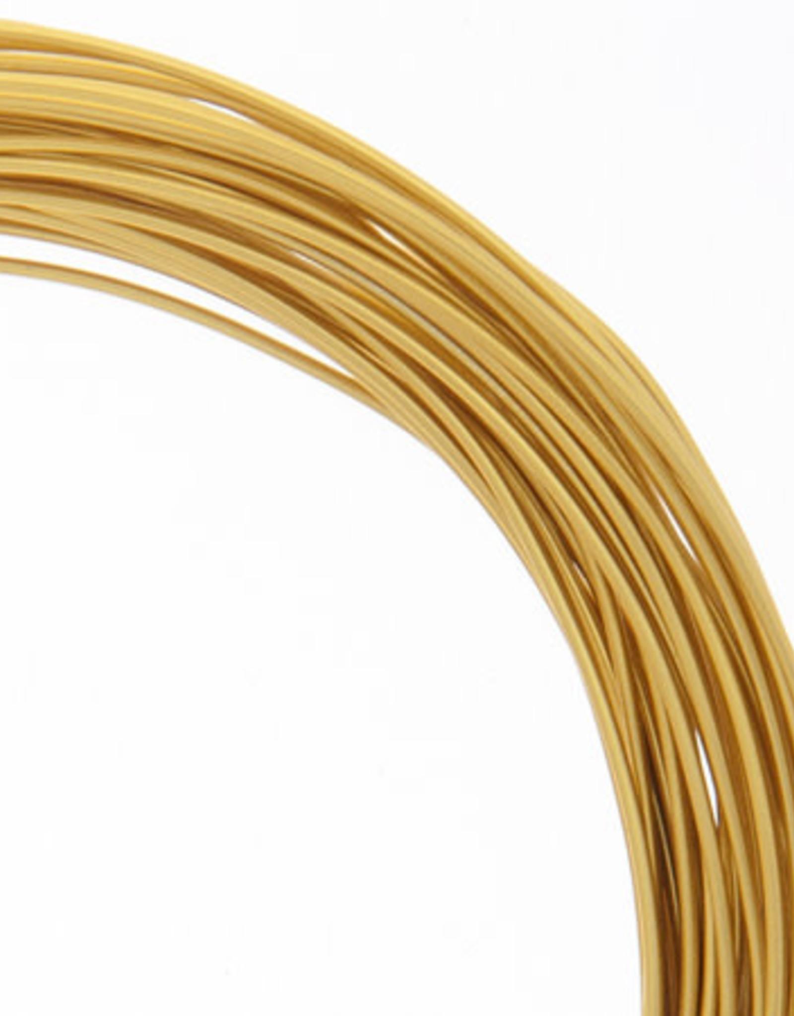 Aluminum Jewelry Wire 30 feet 18 Guage (1.2mm)
