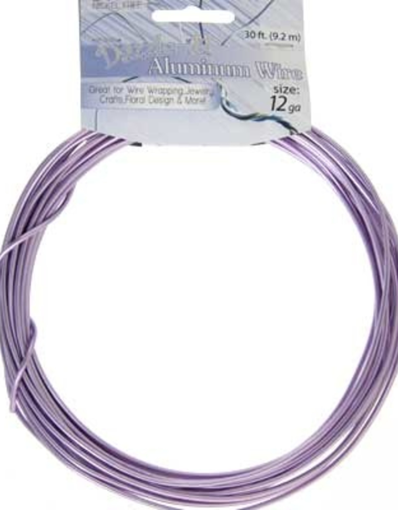 Aluminum Wire 30 Feet (9.2 meters) 12 Guage (2.5mm)