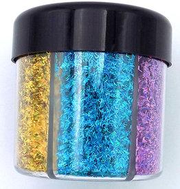Lazer Glitter Shaker 60 grams Mixed Colours