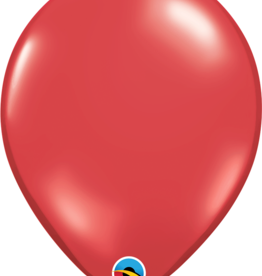 Qualatex Jewel Balloons (10 pcs) Ruby Red 11 inches